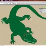 A wie Aligator