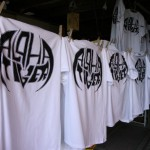 T-Shirts sind fertig.