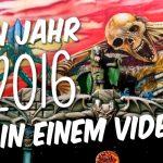 """""""Mein 2016 in einem Video"""" Video."""